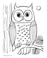 Owl Coloring Pages Printable Free Online Sheets For Kids Get The Latest Images