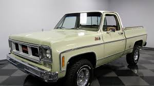 100 52 Chevy Truck Parts 3959 CHA 1973 GMC C 15 Sierra Grande YouTube