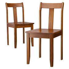 wood dining chair set of 2 threshold target