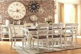 Farmhouse Dining Room Sets With Bench Style Table Bikepool Of