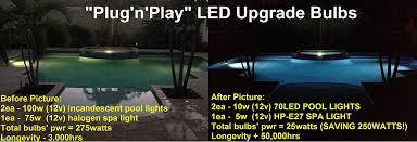 led swimming pool light bulb 120volts 500watt