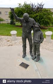 Statue of Our Flag by Larry Anderson at the Ohio Veterans Home in