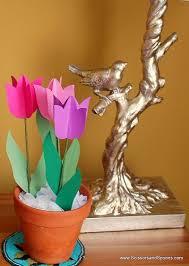 DIY Tulipany Papierove