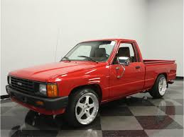 1985 Toyota Pickup For Sale | ClassicCars.com | CC-892647 For Sale 1985 Toyota 4x4 Pickup Truck Solid Axle Efi 22re 4wd Presented As Lot W174 At Indianapolis In Pickup With 22000 Original Miles Nice Price Or Crack Pipe 25kmile 4wd 6000 Was The 4runner Best Suv Of 80s Awesome Toyota 2wd Manual 5speed Potrait Hard Trim Heres Exactly What It Cost To Buy And Repair An Old Fs Norrock 22re Solid Axle Yotatech Forums Classic Car Longview Wa 98632 Truck 44 Lifted X Fresh Paint
