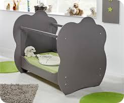 chambre bébé lit plexiglas lit bebe altea taupe