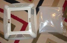 Broan Heat Lamp Grille by Broan Nutone Bp91 Replacement Grille U0026 Light Lens Ebay