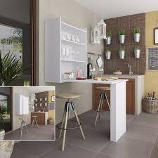 Mesa De Cocina Extensible Compacta CASAESHOME