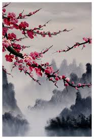 Japanese Cherry Blossom Bathroom Set by Cherry Blossom Art Print Cherry Blossom Wall Mural Cherry