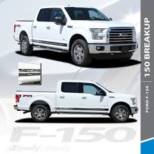 100 Ford Truck Decals F150 Rocker Stripes 150 BREAKUP ROCKER 20152019