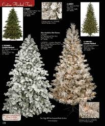75 Flocked Slim Christmas Tree by Flocked Snowy Christmas Trees