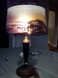 Vintage Bankers Lamp Ebay by 39 Best Reverse Painted Lamps Images On Pinterest Painted Lamp