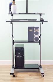 Dual Monitor Stand Up Desk by Best 25 Stand Up Desk Ideas Only On Pinterest Diy Standing Desk