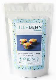 LillyBean Vanilla Bean Cupcake Cake Mix Vegan GF