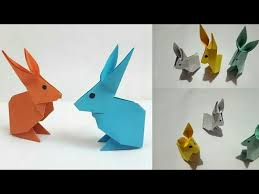 How To Make Colour Paper Rabbit DIY Craft Idea LifeStyle Designs