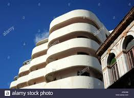 Edificio Solimar Modern Architecture In The City Center Of Havana Centro Habana Cuba Greater Antilles Caribbean