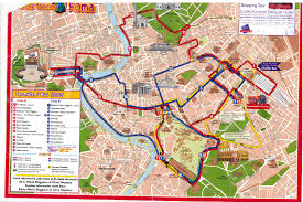 Rome Italy Attractions Map Simple For Pinterest New Zone