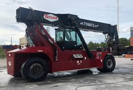 100 Industrial Lift Truck 2015 Diesel Taylor Model TX9972 Serial