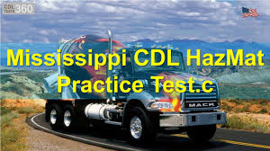 100 Hazmat Trucking Jobs Mississippi CDL HazMat Practice Test YouTube