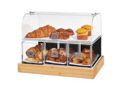 Bamboo Bakery Display Case