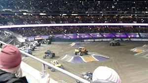 100 Monster Truck Show Oakland Ca Jam CA Intro 21817 YouTube