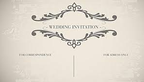 Vintage Wedding Card Invitation Decorative Patterns Vector Background Retro