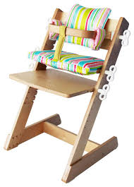 Kaboost Portable Chair Booster Chocolate by Kid 2 Youth Ergonomic Adjustable Wooden High Chair Contemporary