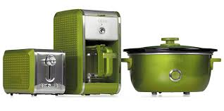 Bella Dots Collection Toaster Coffee Maker And Slow Cooker