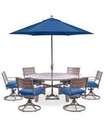 Macys Outdoor Dining Sets by Wayland Outdoor Aluminum 8 Pc Dining Set 64