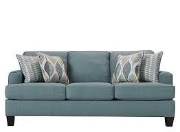 willoughby queen sleeper sofa aqua raymour flanigan