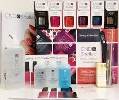 Cnd Uv Lamp Instructions by Sale Cnd Shellac Trendy Trial Pack 15 Pc Uv Led Gel Polish Intro