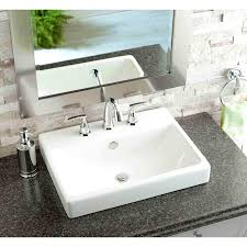 Trough Bathroom Sink With Two Faucets Canada by Bathroom Rectangular Bathroom Sinks Rectangular Bathroom Sinks