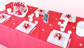 deco coccinelle pour bapteme décoration de table baptême et blanc décorations fêtes
