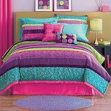 new seventeen venus 2pc twin comforter set 160 pink purple