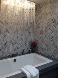 Marvelous Bathroom Ideas With Glass Tile Herringbone Pattern Wall ... Bathroom Tub Shower Tile Ideas Floor Tiles Price Glass For Kitchen Alluring Bath And Pictures Image Master Designs Paint Amusing Block Diy Target Curtain 32 Best And For 2019 Sea Backsplash Mosaic Mirror Baby Gorgeous Accent Sink 37 Cute Futurist Architecture Beautiful 41 Inspirational Half Style Meaningful Use Home 30 Nice Of Modern Wall Design Trim Subway Wood Bathrooms Seamless Marble Surround