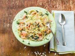 schnelle küche spaghetti mit räucherlachs hellofresh
