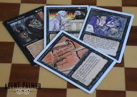 Mtg Revised Starter Deck Contents by Old Magic The Gathering Ante And The Ante Nine Agent Palmer