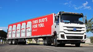 100 Picture Of Truck AnheuserBusch To Deploy 21 BYD Electric S Transport