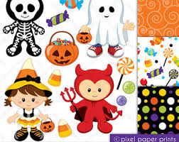 Skeleton clipart trick or treat 13