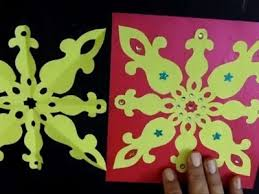 How To Make Simple Easy Paper Cutting Pattern Design