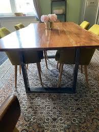 tisch mit 6 stühlen loft ostermann