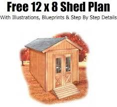 next 8x8 shed plans free download jans