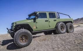 100 6x6 Truck Conversion Bruiser S Built A Jeep Wrangler JK Pickup InsideHook