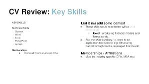 Good Resume Skills Examples List Of What Are Some