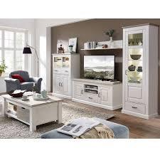 wohnzimmer möbel serie leer 55 in pinie weiß mit abs taupe selbst zusammenstellen