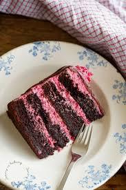 moist rapsberry chocolate cake