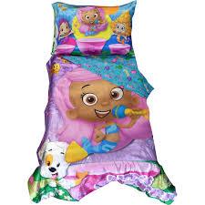 bubble guppies toddler bedding set dance comforter sheets