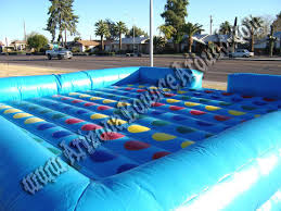 Our Giant Inflatable Twister Game Rental Is Huge And Will Be A Fun Party Idea For All Ages Imagine Having Your Friends At Getting