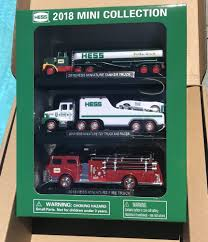 2018 Hess Mini Truck Collection, Brand New In Box, Limited Edition ... 2018 Hess Miniature Truck Set Brand New In Box 3000 Pclick Hess Toy Collection With 1966 Tanker Toys Values And Descriptions 2013 Tractor On Sale Now Just In Time For The Trucks Through Years Newsday The Has Been Around 50 Years 1998 Tanker Truck First In A Series Mib For Sale Nj 1969 Amerada Original Box Near Mint Reveals Mini 2017 Mini Monster Helicopter Emergency 3 News Updates