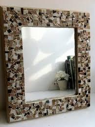 Brown Mosaic Bathroom Mirror by Brown Mosaic Mirror Wall Art By Greenstreetmosaics On Etsy