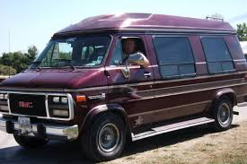 1994 GMC CONVERSION VAN RAISED ROOF BED CAPTAIN CHAIRS